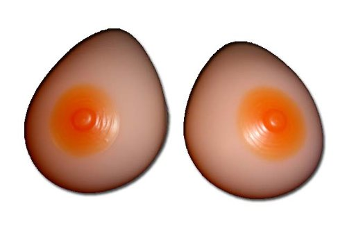 Silicone Breast Forms Mastectomy Size 8 36Dd/38D/40C
