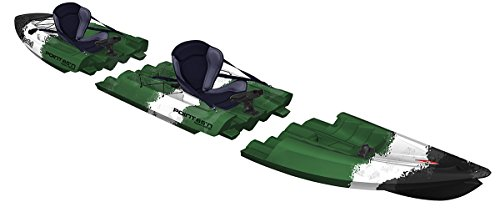 Point 65 N Tequila! GTX Tandem Angler Modular Kayak-GreenCammo