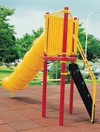 Kidstuff Playsystems 30805 Tube Slide 5 ft. High