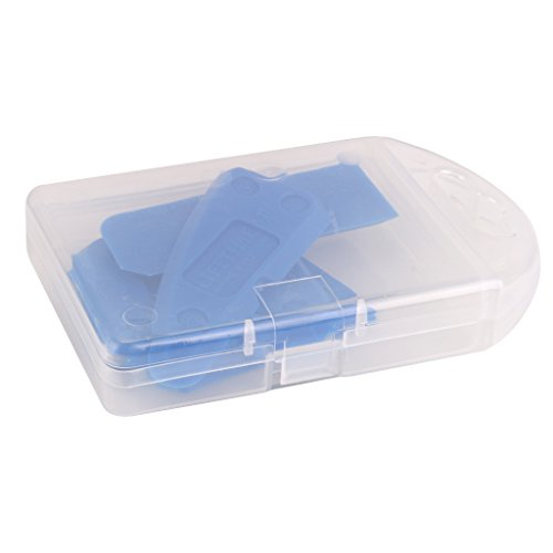 Kit 4pcs outils de calfeutrage grattoir pour joint mastic silicone coulis remover bleu - Kit de calfeutrage ...