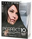 Clairol Nice n Easy Perfect 10 Permanent Hair color, #2 Black - Kit