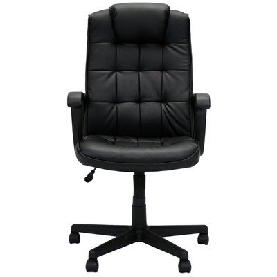 Furinno Wa-7068 Hidup Boss High Back Leather Executive Office Chair