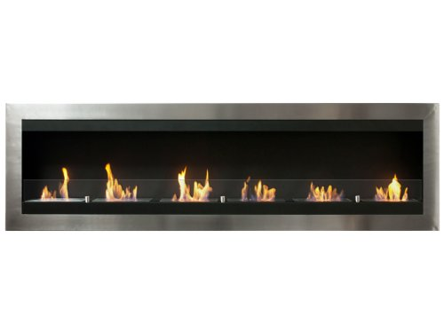 Ignis Maximum Wall Mount Ventless Ethanol Fireplace with Glass image B00E8LQG1Y.jpg