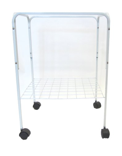 Image of YML 4924WHT Bird Cage Stand, White (4924WHT)