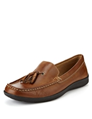 Airflex™ Comfort Leather Tassel Loafers
