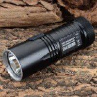 NITECORE EA41 960lm 8-Mode Cool White Light LED Portable Search Flashlight - Black (4 x AA)
