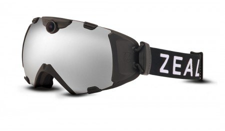 Zeal Optics Zeal Base HD Camera Goggle Eyewear Black/Metal Mirror
