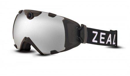 Zeal Optics Zeal Base HD Camera Goggle Eyewear Black/Metal Mirror