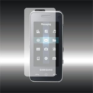 LCD Screen Protector for Samsung F490 - Set of 2 LCD Screen Protectors