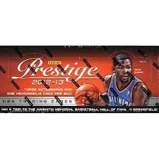 NBA 2012/13 Panini Prestige Hobby Trading Cards
