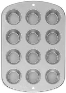 Wilton Regular Muffin Pan 12 Cup Non Stick Steel