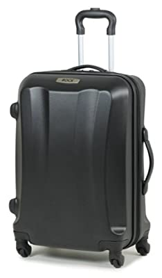 Rock Wyoming ABS Hard Shell Four Wheel Spinner Expandable Trolley Case
