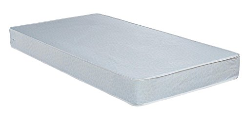 Cheapest Prices! Safety 1st Heavenly Dreams Stars a Plenty Baby Mattress, Light Blue