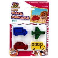 Penn Plax Travel Munchies-Wood Chews 4 Pk
