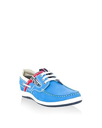 Nebulus Bootsschuh Riva blau