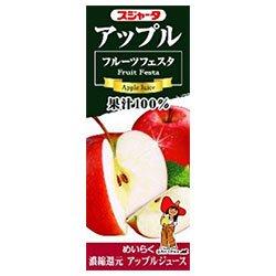 スジャータ フルーツフェスタ アップル 200ml紙パック×24本入×(2ケース)