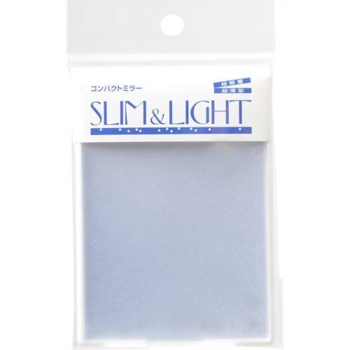 HORIUCHI スリム&ライトコンパクトミラー ホワイト