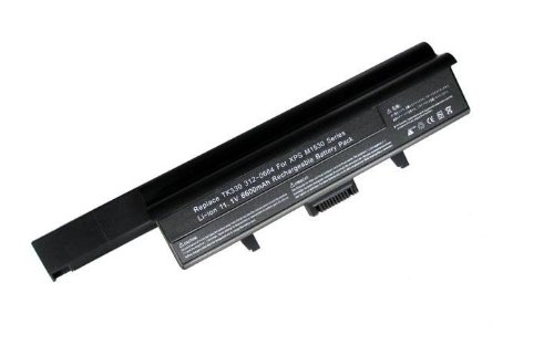 Replacement 9-cell Li-ion Battery For Dell XPS M1530, Compatible PN: 312-0664 HG307 RU006 TK330 RU033 RN894 GP975, 1x Mini Laptop Stand Bundled (Dell Xps M1530 Battery compare prices)