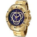 Invicta Reserve Men's Excursion Touring Edition Swiss Quartz Stainless Steel Watch 6469 (Color: blue)