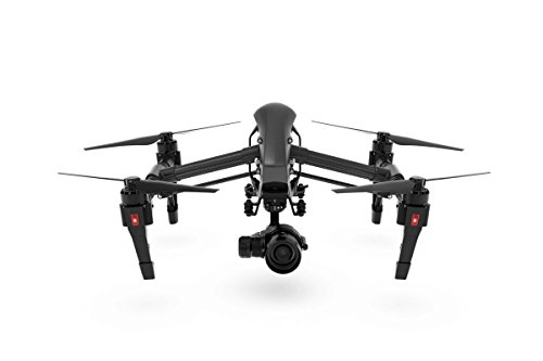 Inspire 111 DJI Inspire 1 Pro Black Edition Quadcopter with Zenmuse X5 4K Camera & 3-Axis Gimbal, Transmitter Included