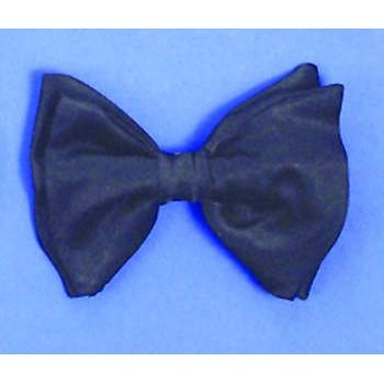 Bow Tie with Elastic (Black) Party Accessory - 1