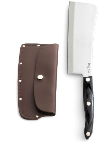 Cutco-1737-Cleaver-with-Leather-Sheath-High-Carbon-Stainless-Blade-and-Classic-Brown-Handle