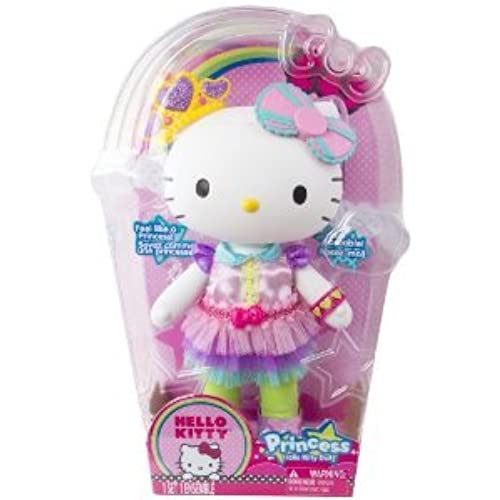 Hello Kitty (헬로 키티) Princess Large Doll 돌 인형 피규어(병행수입)-