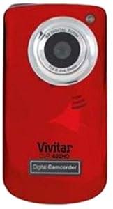 Vivitar DVR620HD-RH-INT i Twist 620 5 Mpix Camcorder Red from Vivitar