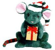 TY Beanie Baby - TIDINGS the Holiday Mouse (Internet Exclusive)