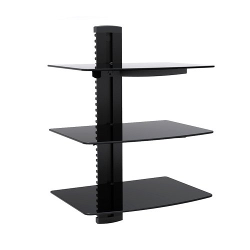 Glass Component Shelf Wall Mount