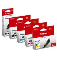 Canon PG550/CL551XL High Capacity Cartridge - Multicolour Black Friday & Cyber Monday 2014