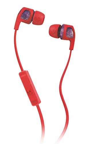 Click to buy Skullcandy Smokin Buds 2 In-Ear Stereo Universal Ear Buds Headset Headphones 3.5mm with Mircophone in-line Remote Mic1 for iPhone iPad iPod Samsung Galaxy LG G4 Smartphone Red/Purple - From only $222.95