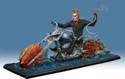 Ghost Rider on Water Movie Statue - Gentle Giant