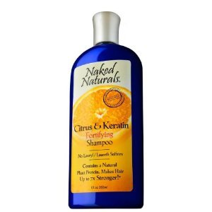 Naked Naturals Citrus & Keratin Fortifying Shampoo 12 oz (355 ml)