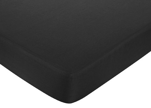 Black And White Crib Sheets front-35769