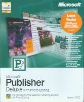 Microsoft Publisher Deluxe with Photo Editing 2002 [Old Version]