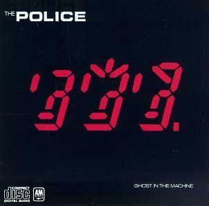 Original album cover of Ghost in Machine by Police (1990) Audio CD by Police