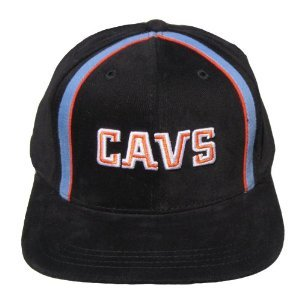 Buy Cleveland Cavs Vintage Sports Specialties Adjustable Snapback Hat - Black by NBA