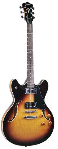 Johnson Js-500-Sn Grooveyard Electric Guitar, Sunburst