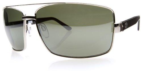 Electric Ohm Sunglasses Platinum / Grey Poly Polarized