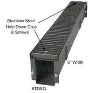 Stamping 6tdsg1 Steel Grate Trench Drain 6