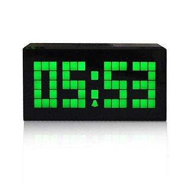 Kosda Chihai? Digital Projection Clock Snooze Alarm LED Backlight Calendar Thermometer Timer Countdown Timer