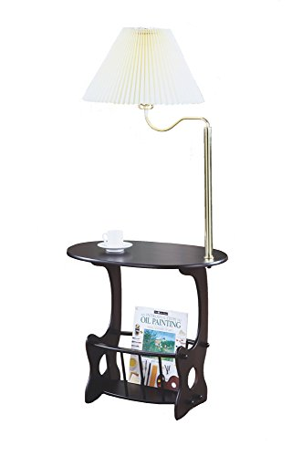 side tables with lamps attached. Black Bedroom Furniture Sets. Home Design Ideas