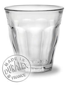 Duralex 16cl Picardie Tumbler Drinking Glasses Pack of 6