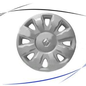 35734 5 kit 4 roues de hubcaps couvre jantes 04 15 renault modus cups roues high tech. Black Bedroom Furniture Sets. Home Design Ideas