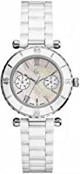 Gc Analog Mother of Pearl Dial Womens Watch - I35003L1