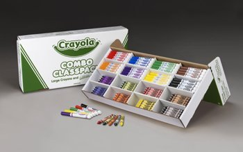 CRAYOLA LARGE SIZE CRAYONS AND 4pcs new for ball uff bes m18mg noc80b s04g
