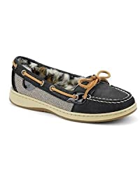 Sperry Top-Sider Women's Grey Lime Leather Angelfish Boat Shoe