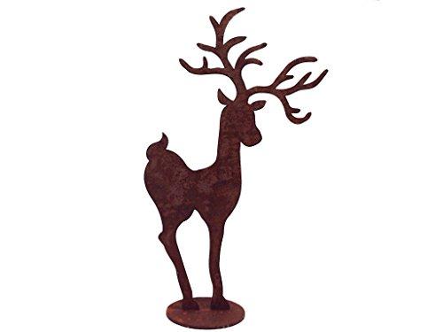 edelrost-hirsch-auf-einer-platte-hohe-40-cm
