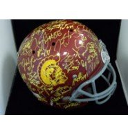 Signed Trojans, USC (2012) Replica Full Size Helmet by the 2012 USC Trojans Team... by Powers Collectibles